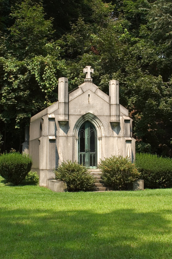 Download Family Mausoleum stock photo. Image of grass, rest, building - 17668