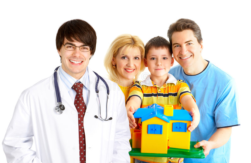 Download Family medical doctor stock image. Image of background - 7736327