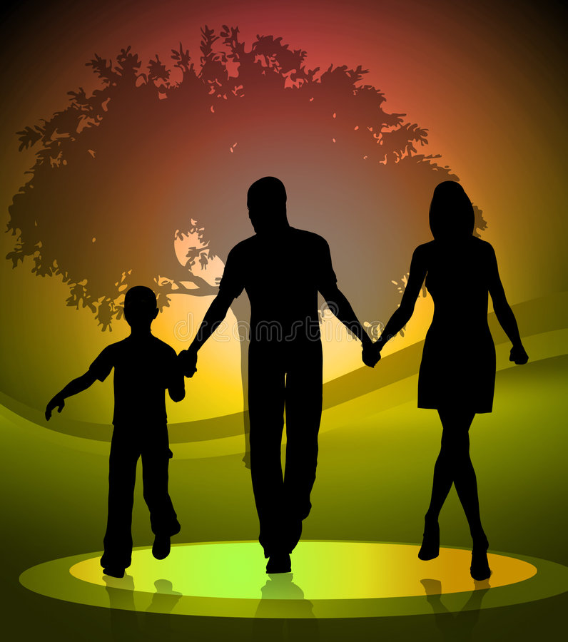 Download Family member illustration stock illustration. Image of style - 7626150