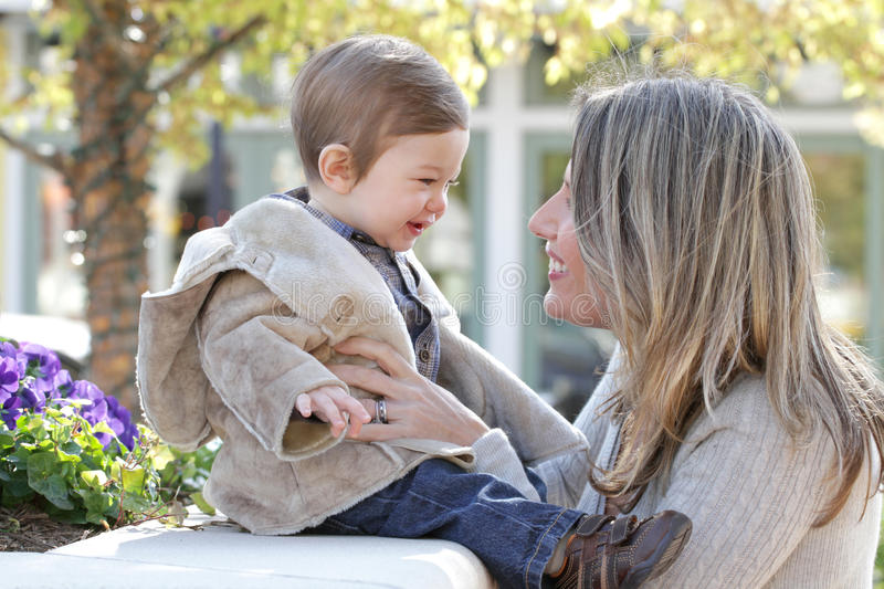 Download Family: Mother And Baby Son Stock Image - Image: 11771257