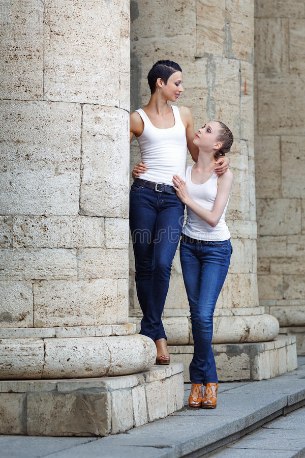 Family, mother and daughter stock photography