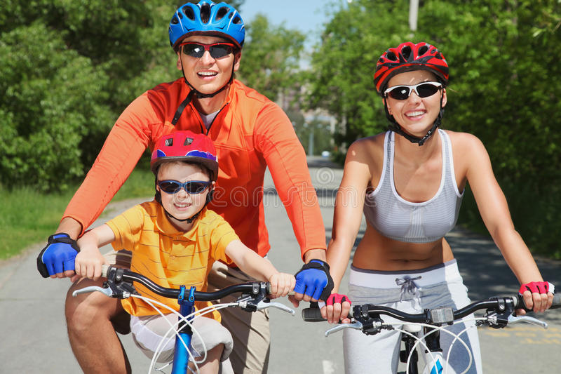 Download Family In Motion Stock Photo - Image: 28377090