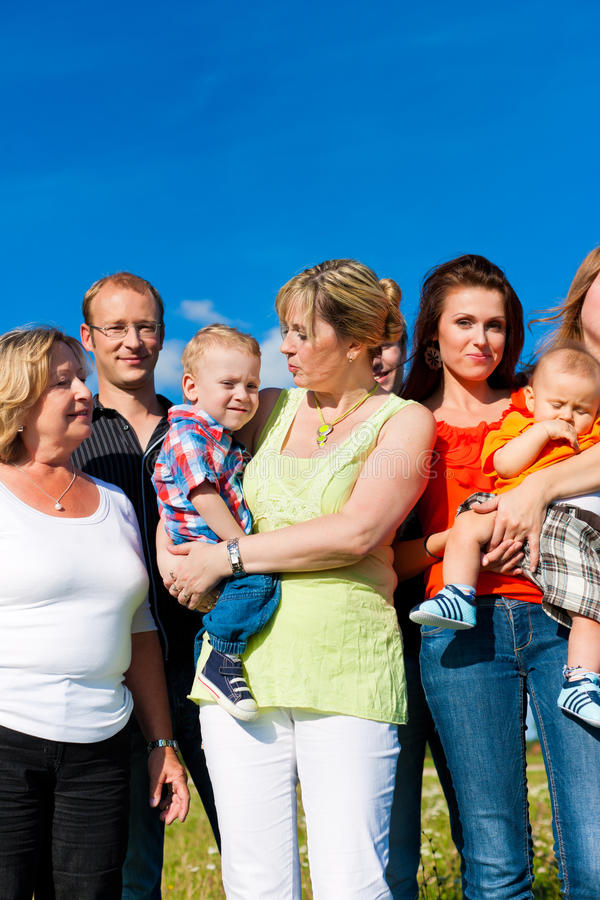 Family and multi-generation stock photo