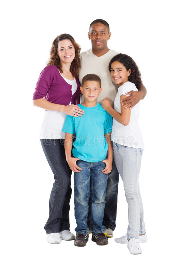 Free Family Of Four Royalty Free Stock Photos - 16842758