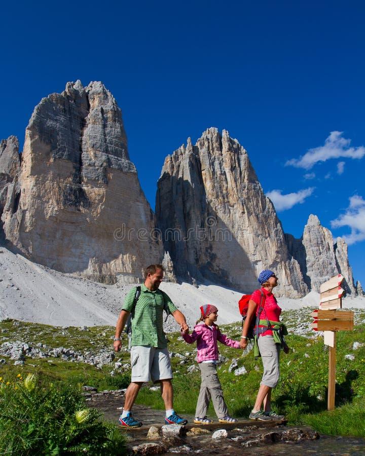 Free Family On Hike Stock Image - 27045371