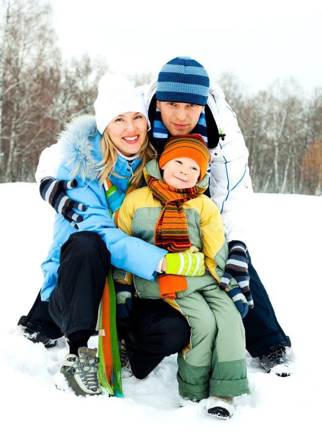 Family outdoor royalty free stock photo