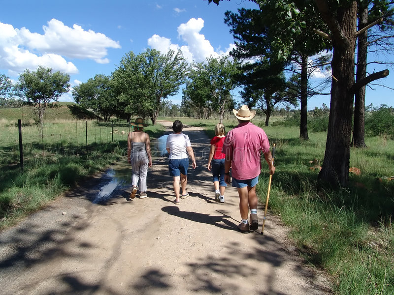 Download Family Outting stock photo. Image of outing, landscape - 598300