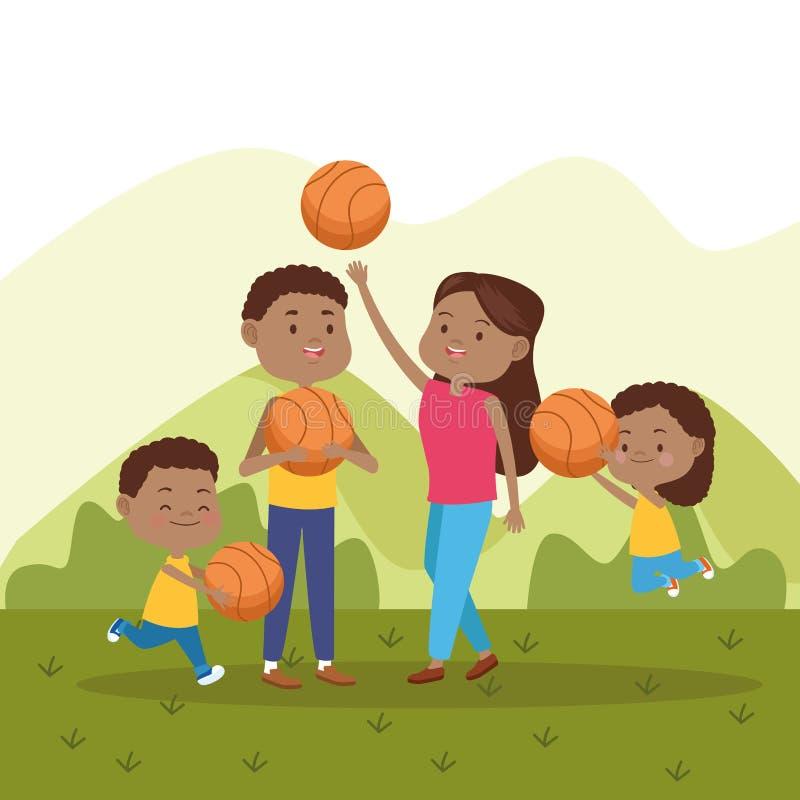 Family Basketball Stock Illustrations 551 Family Basketball Stock Illustrations Vectors Clipart Dreamstime