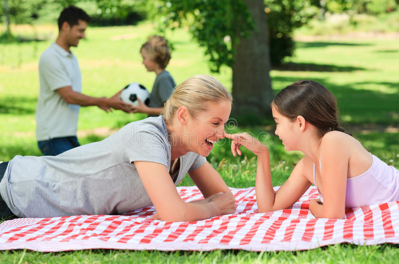 Download Family in the park stock image. Image of happy, lifestyle - 18739881