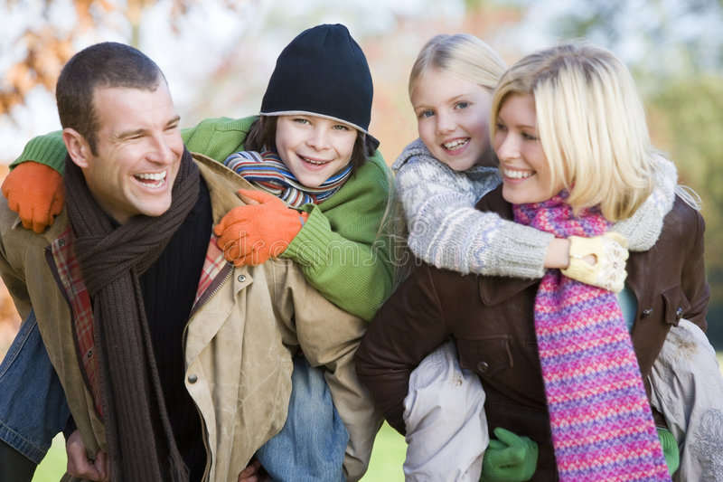 Download Family At The Park Stock Photography - Image: 4777632