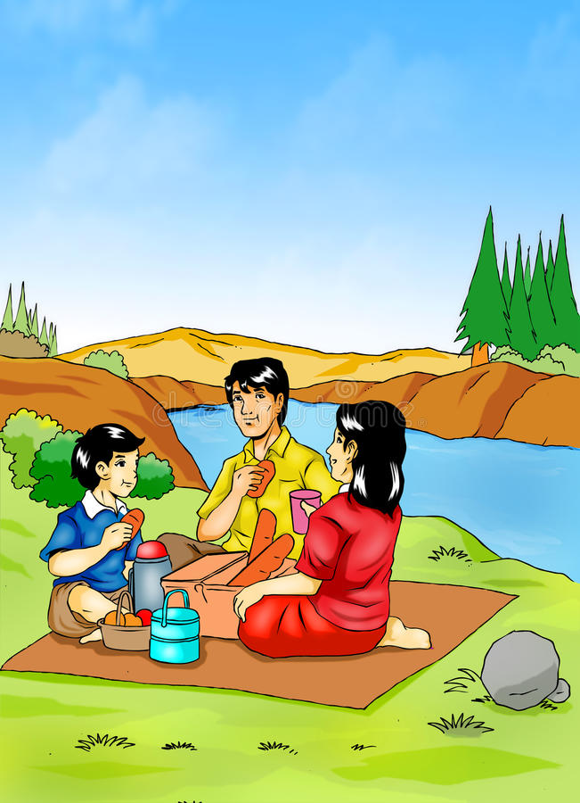 Download Family Picnic Stock Image - Image: 22249921