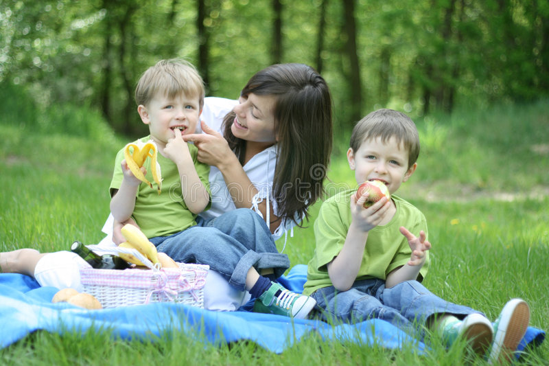 Download Family Picnic Stock Photo - Image: 2367050