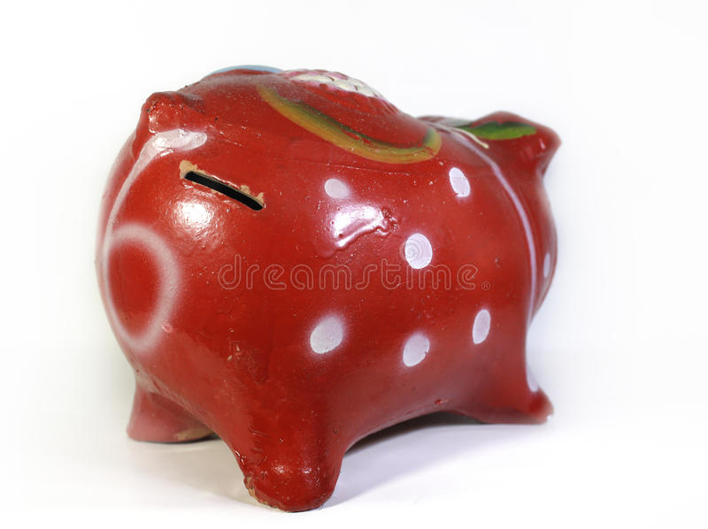 Family of piggy banks royalty free stock image
