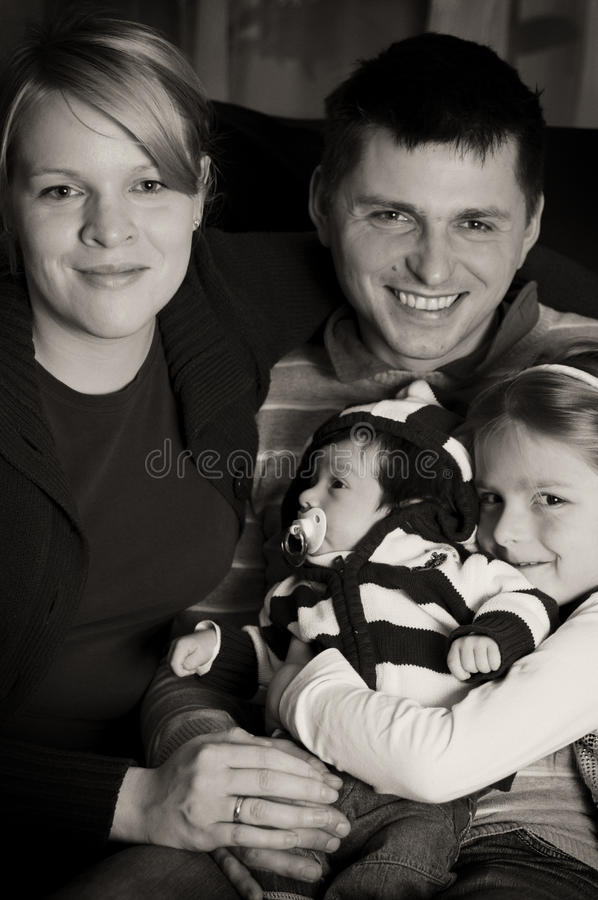 Download Family Portrait Royalty Free Stock Photography - Image: 12147227