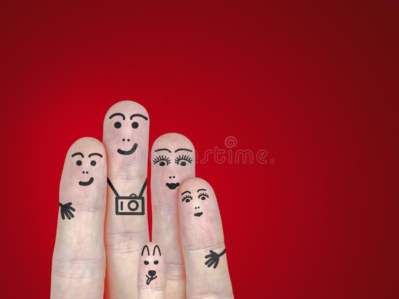 Download Family portrait stock illustration. Image of human, girl - 28881319