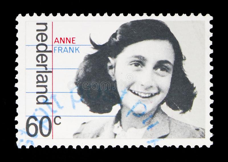 Family portrait of Anne Frank, Occupation and liberation serie, royalty free stock images