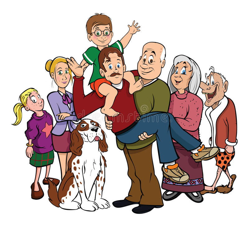 Download Family Portrait Reunion Royalty Free Stock Image - Image: 13040266