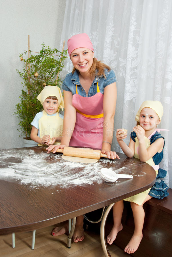 Download The family is preparing stock photo. Image of parenthood - 21839360