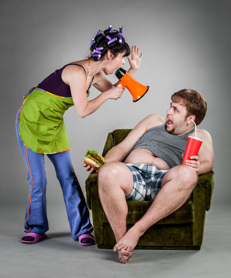 Download Family quarrel stock photo. Image of argue, funny, friend - 24243932
