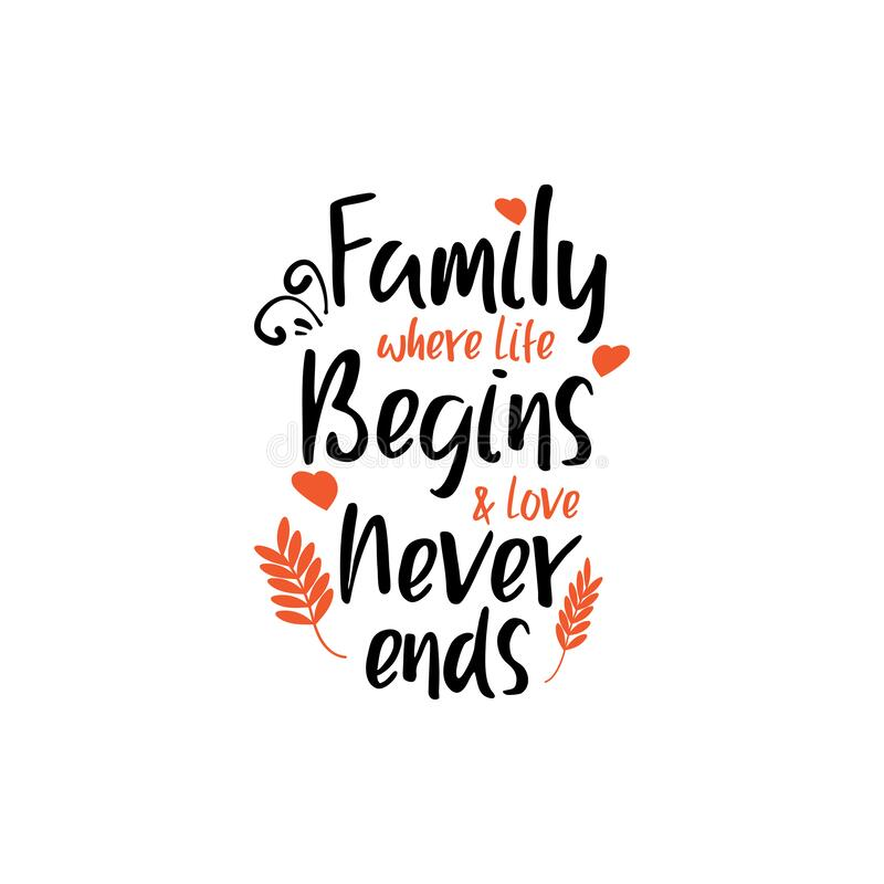 Family Quote Stock Illustrations 13 348 Family Quote Stock Illustrations Vectors Clipart Dreamstime
