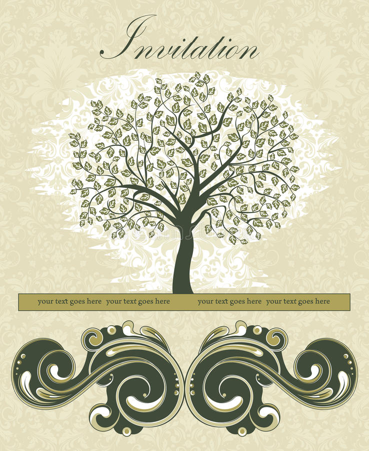 Download Family Reunion Invitation Card Stock Vector   Illustration Of  Damask, Birthday: 39096312  Family Reunion Invitation Cards