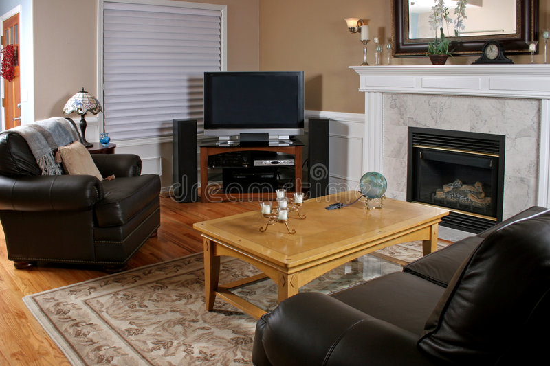 Family Room stock photography