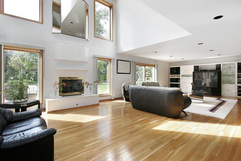 Download Family Room In Open Floor Plan Stock Image - Image: 12655379