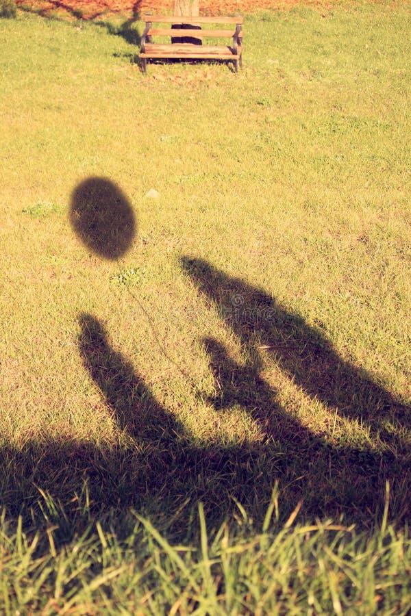 Free Family S Shadows Stock Photography - 23398802
