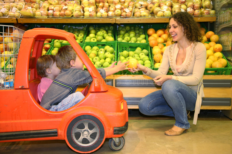 Download Family shopping stock photo. Image of parent, lifestyles - 2793822