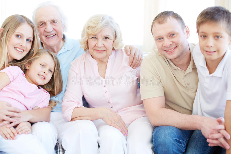 Download Family Of Six Stock Photo - Image: 33382100