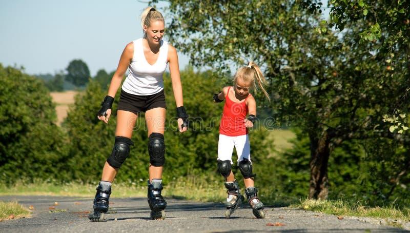 Family sport stock photos