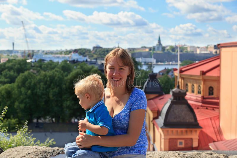 Download Family In Stockholm, Sweden Stock Photo - Image: 26212188