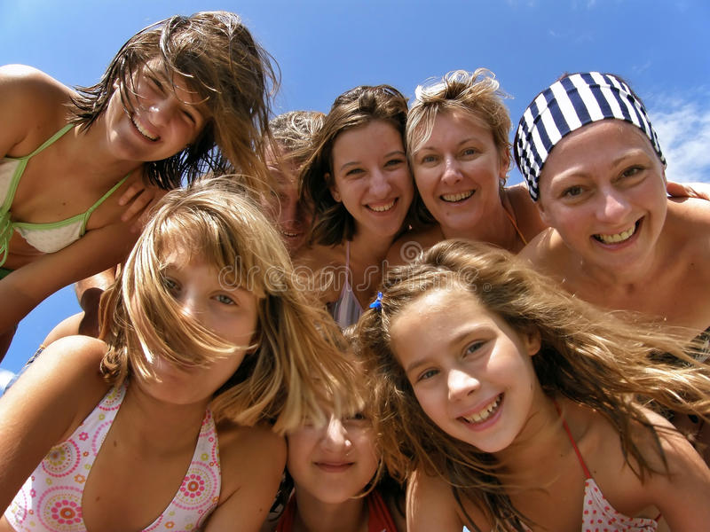 Download Family Summer Fun Stock Photography - Image: 21681022