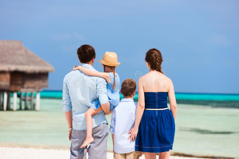 Download Family on summer vacation stock photo. Image of exotic - 40163578