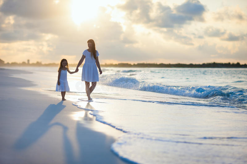 Download Family at sunset stock photo. Image of girl, people, summer - 34356480