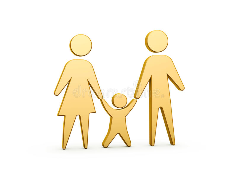 Family Symbol Royalty Free Stock Photography