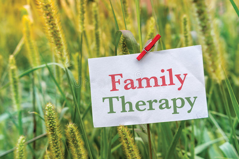 Family Therapy royalty free stock photography