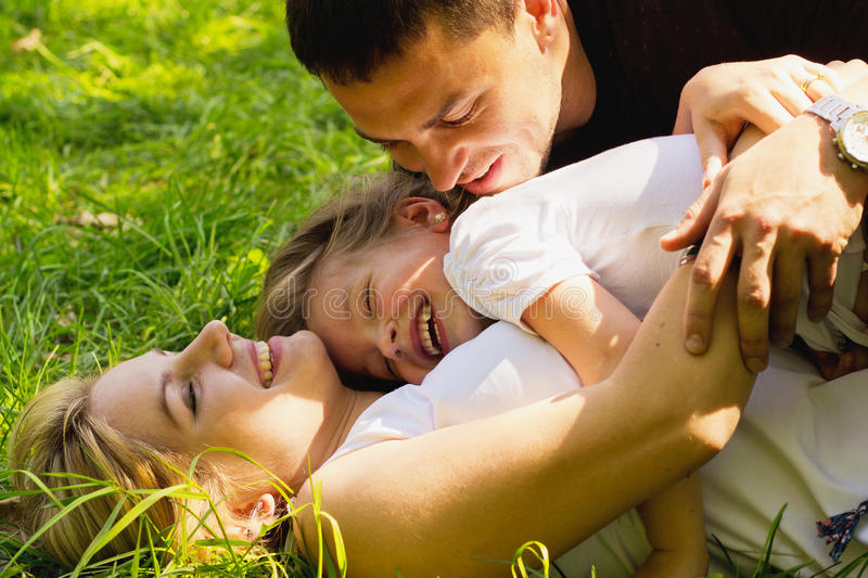 Family together royalty free stock images
