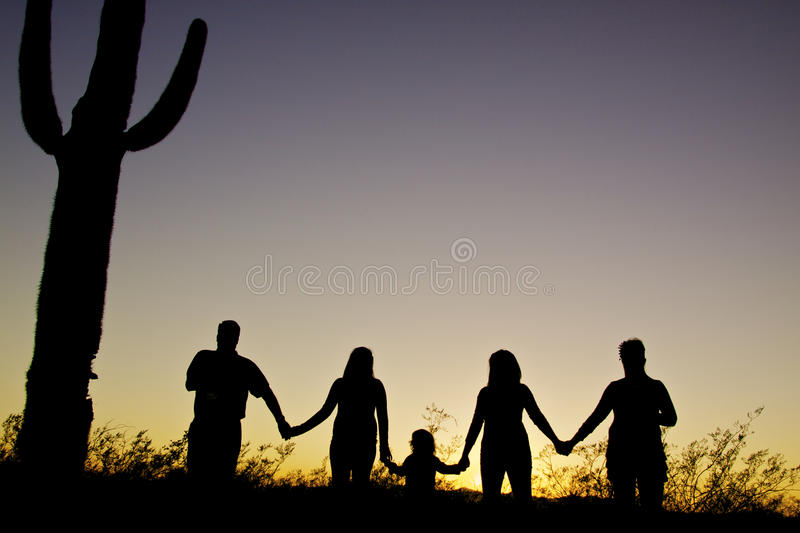 Download Family Togetherness Sunset Royalty Free Stock Photography - Image: 18980377