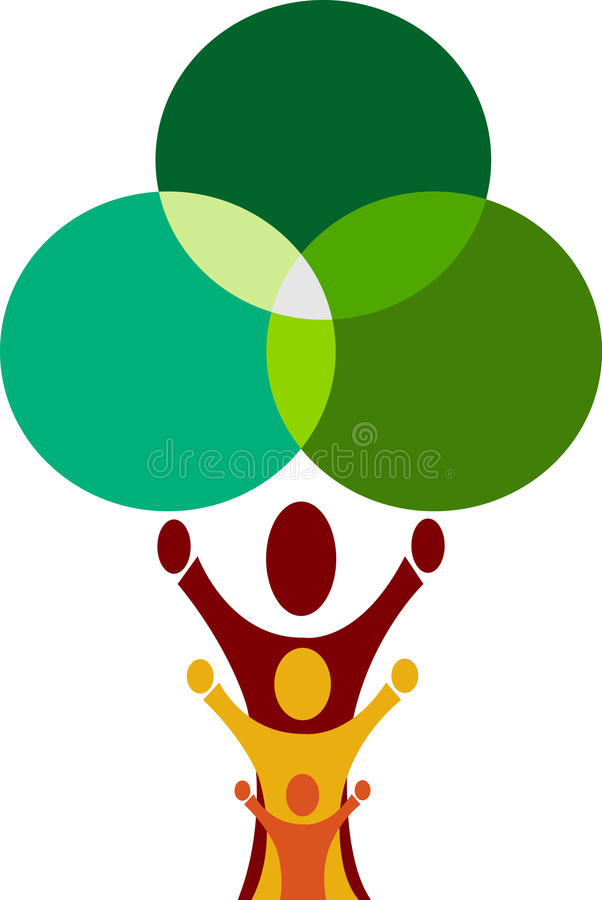 Download Family tree stock vector. Illustration of icon, growth - 19452959
