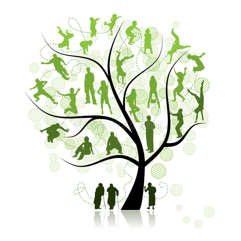 Free Family Tree, Relatives Stock Photography - 11834692