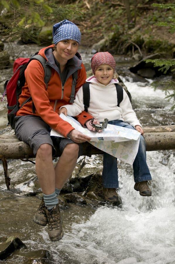 Download Family trekking stock image. Image of outdoor, daughter - 9038967
