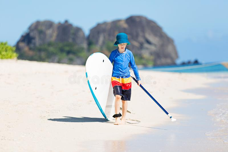Family tropical vacation stock images