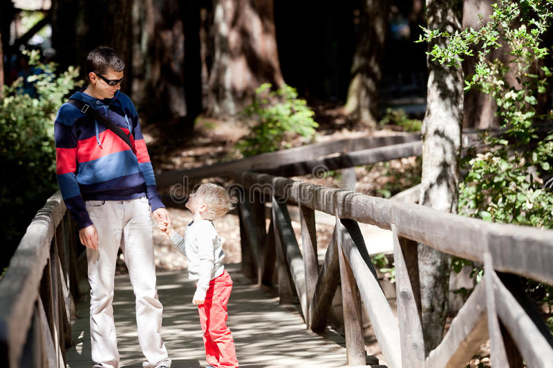 Download Family of two hiking stock image. Image of family, bonding - 31645885