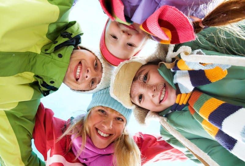 Family union stock photos