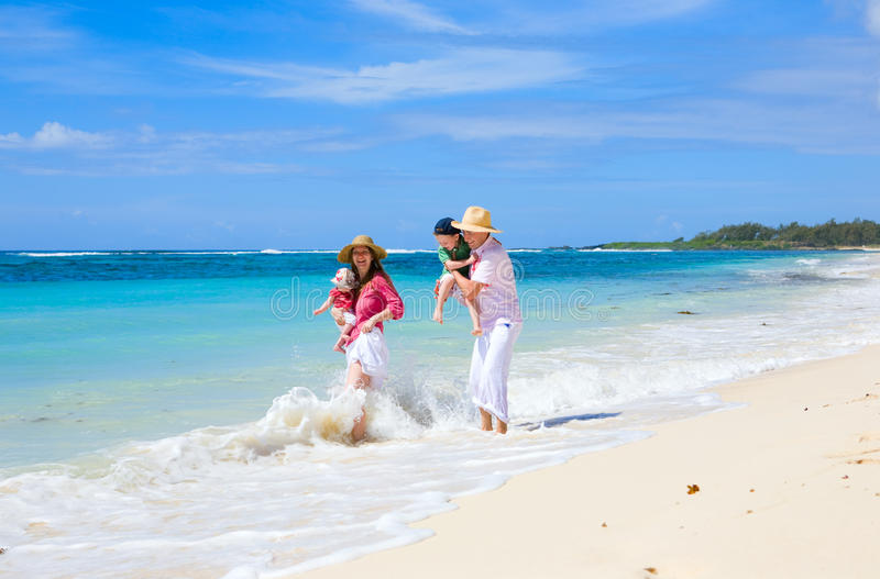 Download Family vacation stock image. Image of coast, lifestyle - 9516295