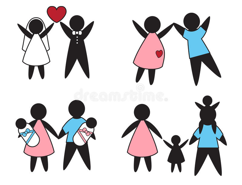 Download Family values stock illustration. Image of married, couple - 32313624
