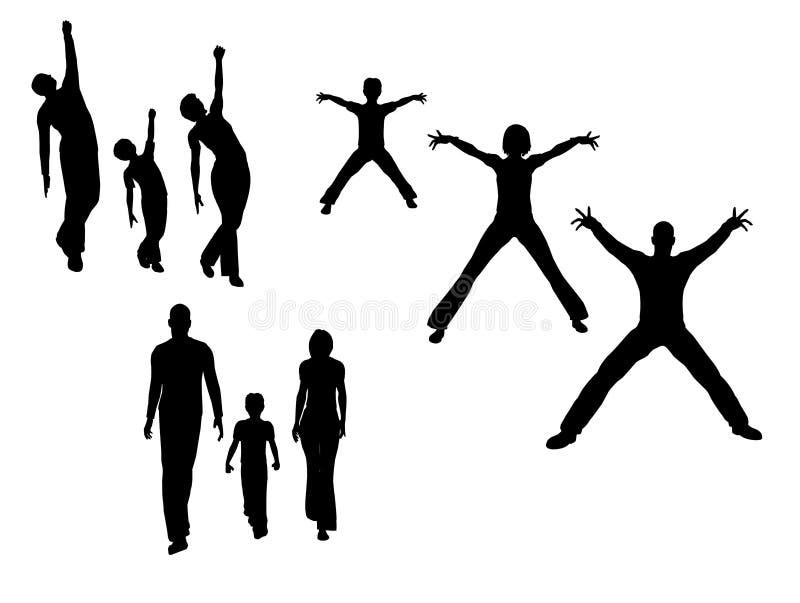 family vector бесплатная иллюстрация