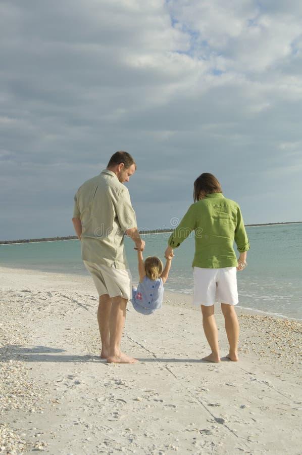 Free Family Walking On Beach Royalty Free Stock Photo - 8109985