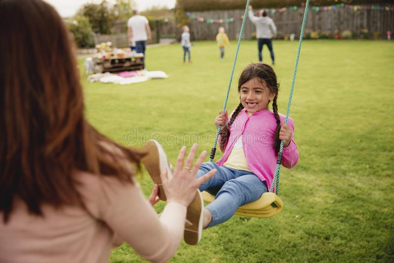Family Weekend Activities royalty free stock photos